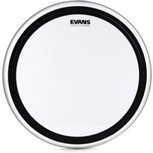 Evans EMAD2 22 Inch Bass Drum Head Batter Clear.