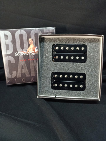 Bare Knuckle Boot Camp Brute Force Humbucker Set Black