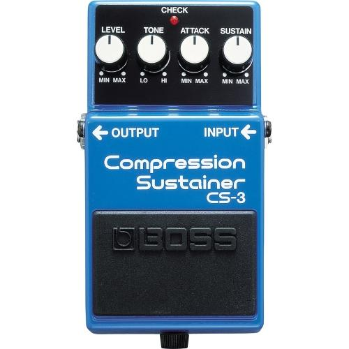 CS-3 Compression Sustainer Effect Pedal.