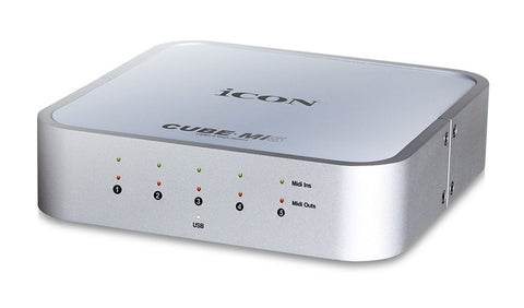 Icon Cube MI5 5-IN/5-OUT USB 2.0 Midi Interface