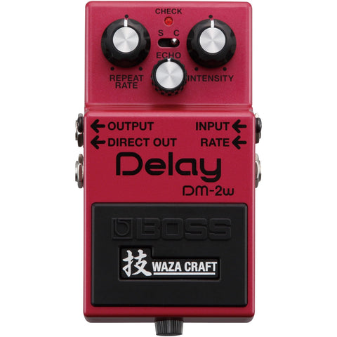BOSS Waza Craft DM-2W Delay