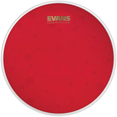 Evans Hydraulic Red 14Inch Tom Tom Head Coated