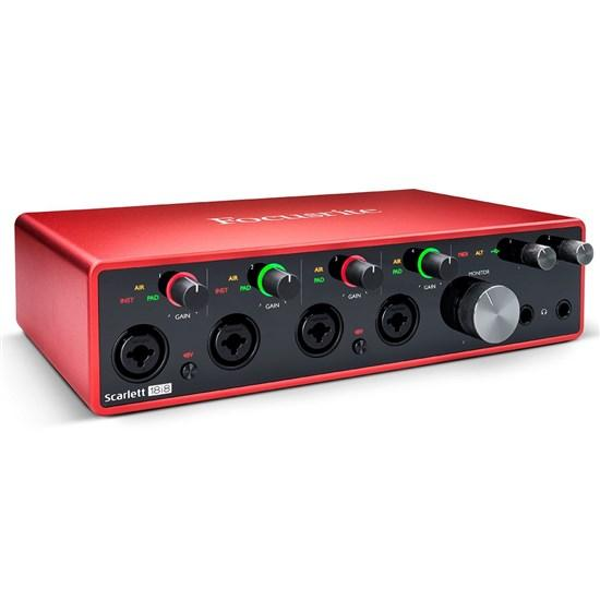 Focusrite Scarlett 18i8 3rd Gen USB Audio Interface.