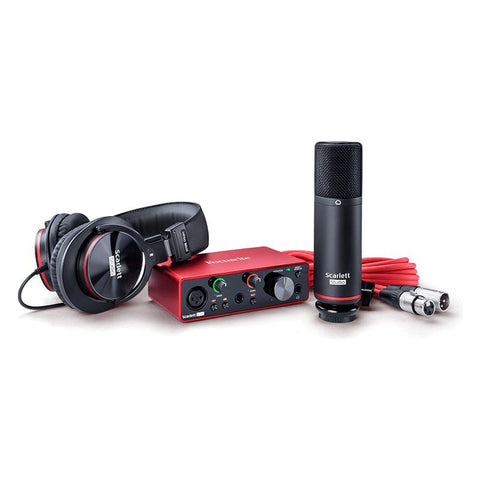 Focusrite Scarlett 3rd Generation Solo Studio Bundle