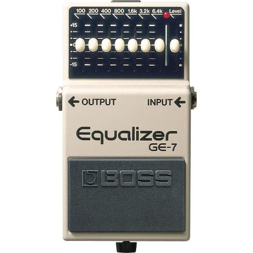 BOSS GE-7 Graphic Equalizer.