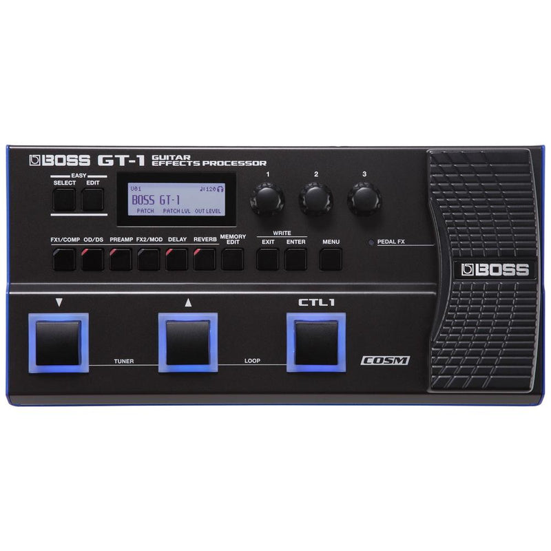 Boss GT 1 Guitar Effects Processor.