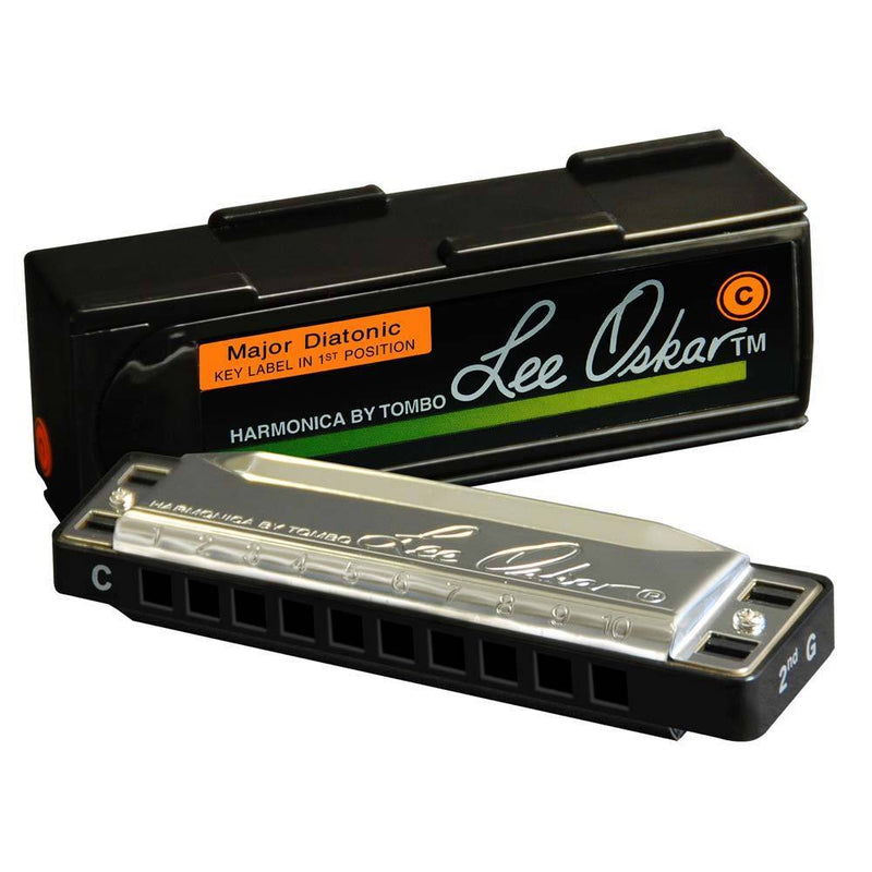 Lee Oskar F Sharp Diatonic Harmonica 10 Hole.