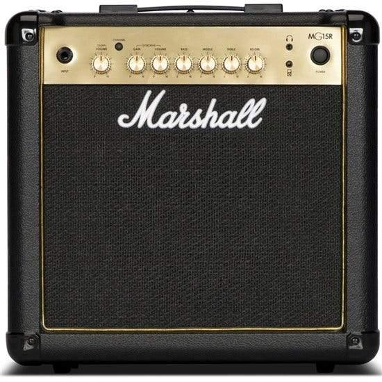 Marshall MG15R Gold Combo with Reverb - Five Star Music