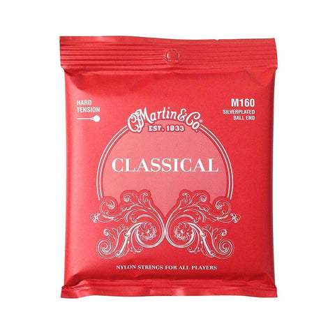 Martin Classical Guitar String Set High Tension with Ball Ends