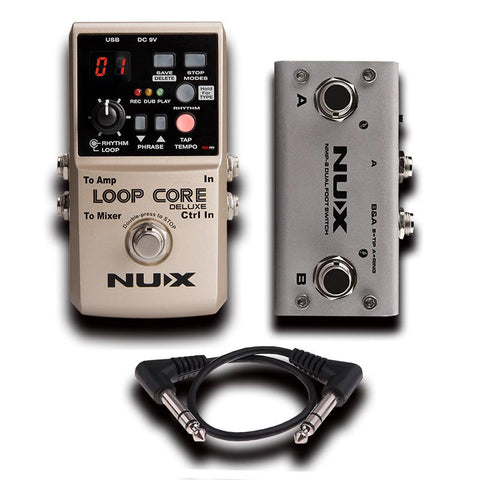Nux Loop Core Dlxe Bundle
