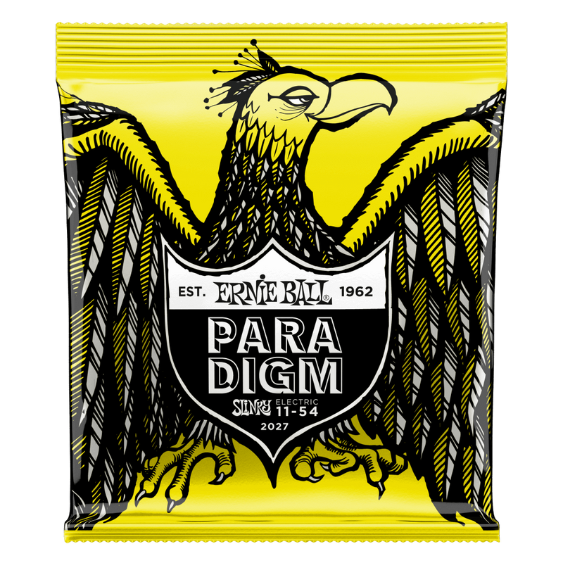 Ernie Ball Beefy Slinky Paradigm Electric Guitar Strings, 11-54 Gauge.