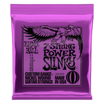 Ernie Ball Power Slinky 7-String Nickel Wound Electric Guitar Strings 11-58 Gauge