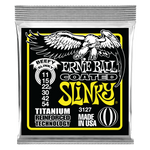 Ernie Ball Beefy Slinky Coated Titanium RPS Electric Guitar Strings, 11-54 Gauge