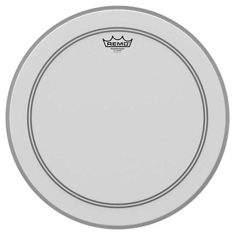Remo Powerstroke 3 22 Inch Bass Drum Head Coated W/Falam Patch