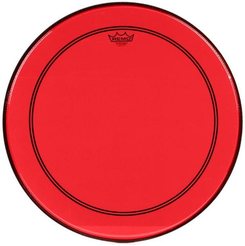 Remo Powerstroke P3 Bass Colortone Red 22 Inch