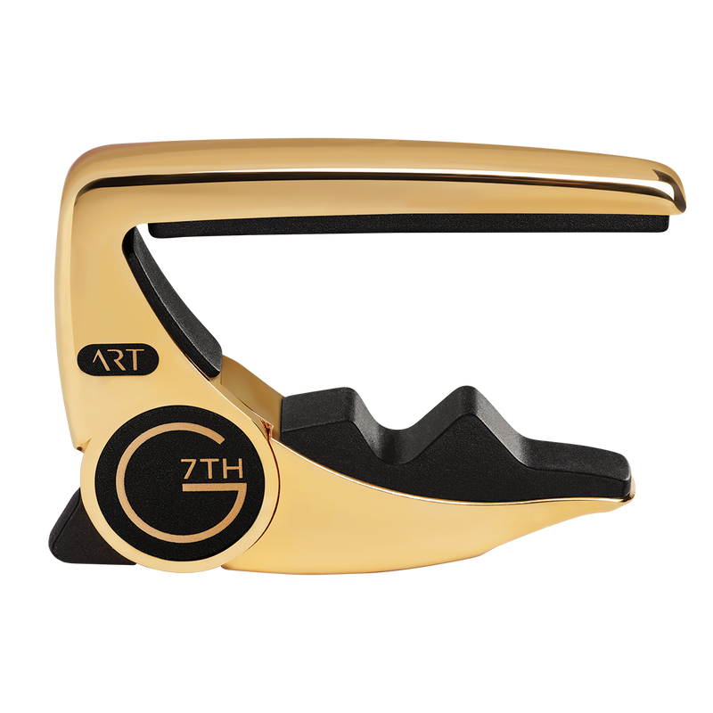 G7 Performance 3 Capo in Gold.