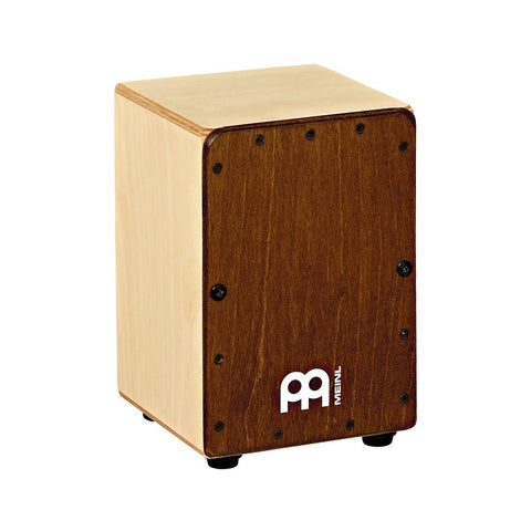 MEINL Percussion SCAJ1NT-LB Mini Cajon, Almond Birch