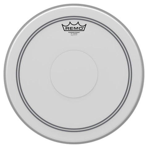 Remo Powerstroke 3 14 Inch Drum Head Coated Batter Top Dot