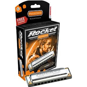 Hohner G Rocket Harmonica Plastic Comb W/Rounded Edges.
