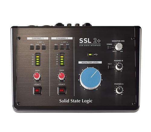Solid State Logic SS-2+ 2 Channel USB Interface at Five Star Music 102 Maroondah Highway Ringwood Melbourne Music Guitar Store.