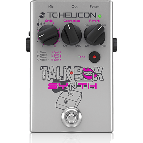 Talkbox Synth Is A Studio-Quality Vocal Stompbox