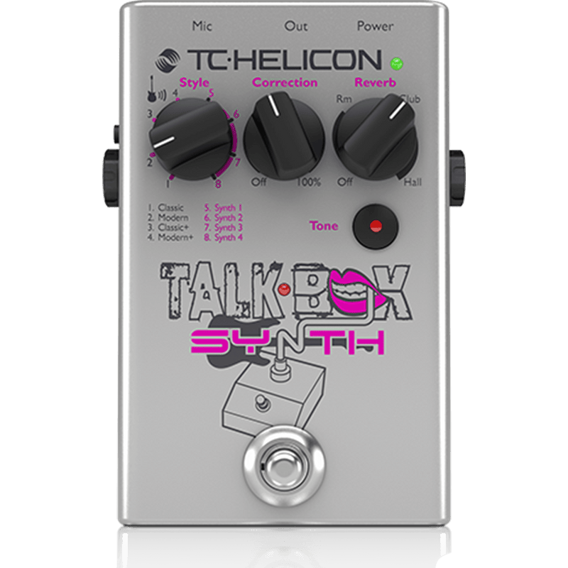 Talkbox Synth Is A Studio-Quality Vocal Stompbox.