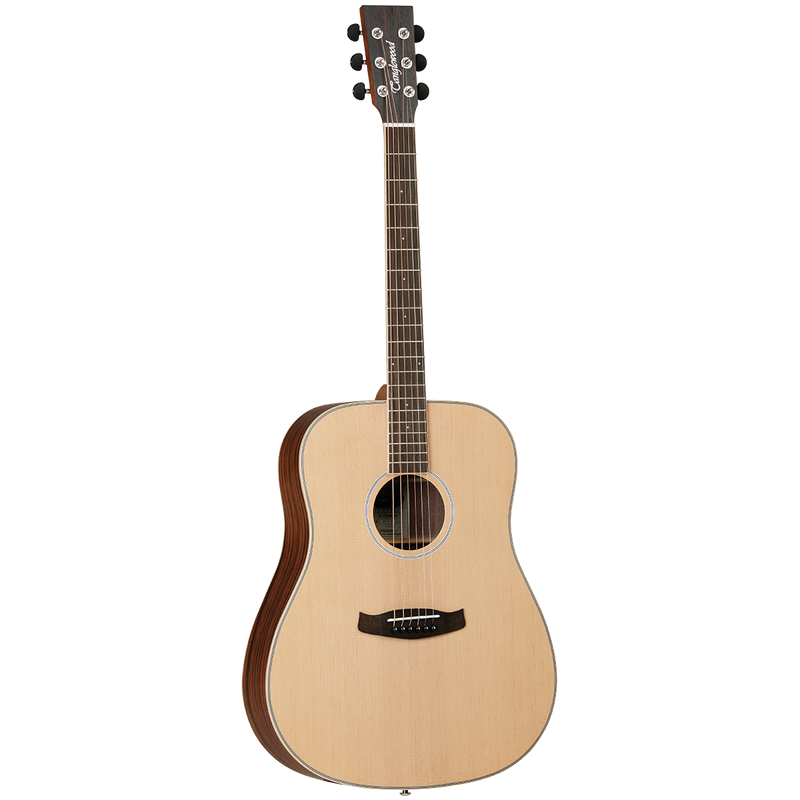 Tanglewood TDBTDEB Discovery Exotic Dreadnought Ebony.