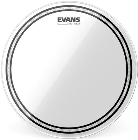 Evans EC Resonant 10 Inch Tom Tom Head Clear