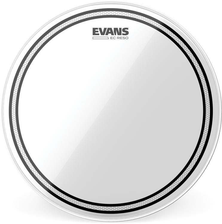 Evans EC Resonant 10 Inch Tom Tom Head Clear.
