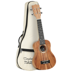 Tanglewood TWT7B Tiare Soprano Ukulele All Koa with Bag
