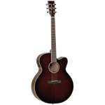 Tanglewood TW4SJWB Winterleaf Super Jumbo C/E Whiskey Barrel Burst