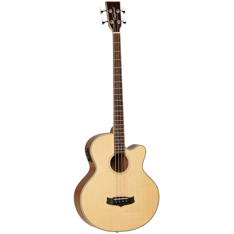 Tanglewood TW8AB Winterleaf Acoustic Bass CE Natural Gloss Spruce/ Mahogany.