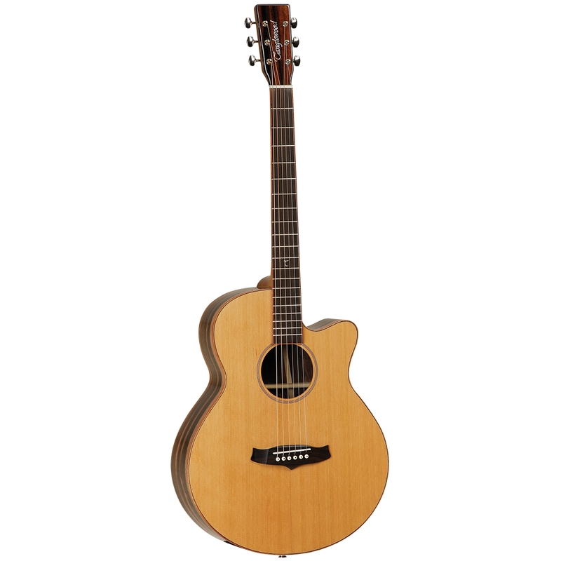 Tanglewood Java Superfolk Cutaway Electric Guitar.