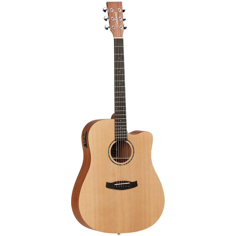 Tanglewood TWR2DCE Roadster II Dreadnought Cutaway With Pickup.