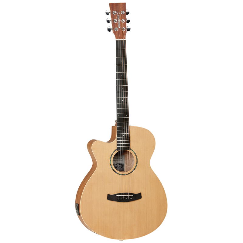 Tanglewood TWR2SFCELH Roadster II Superfolk Cutaway With Pickup Left Handed.
