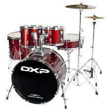 DXP Fusion 20 Drum Kit Package - Wine Red.