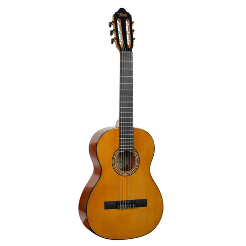Valencia VC263 - 3/4 Size Classical Guitar - High Gloss Natural.