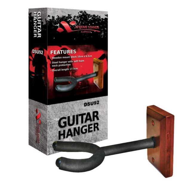 Xtreme Guitar Wall Hanger Wood.