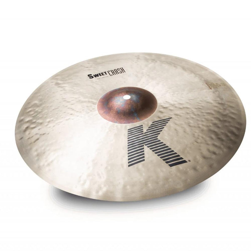 "Zildjian K 17"" Sweet Crash Cymbal."