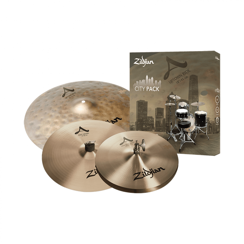 Zildjian A City Cymbal Set.