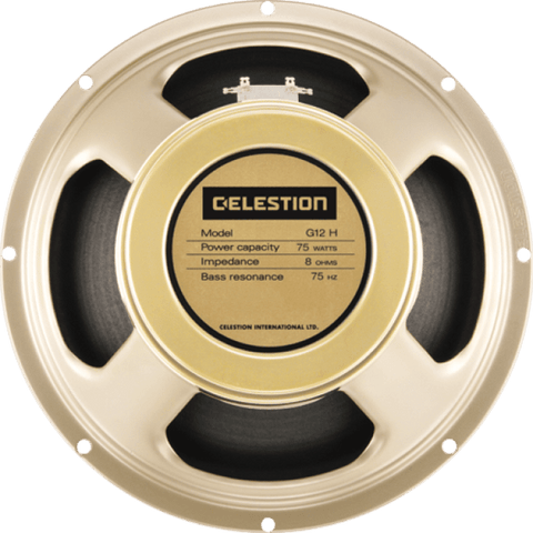 "Celestion G12H-75 Creamback 12"" 75-Watt Guitar Speaker 8 Ohm."
