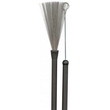 Brushes Rubber Handle Pair.