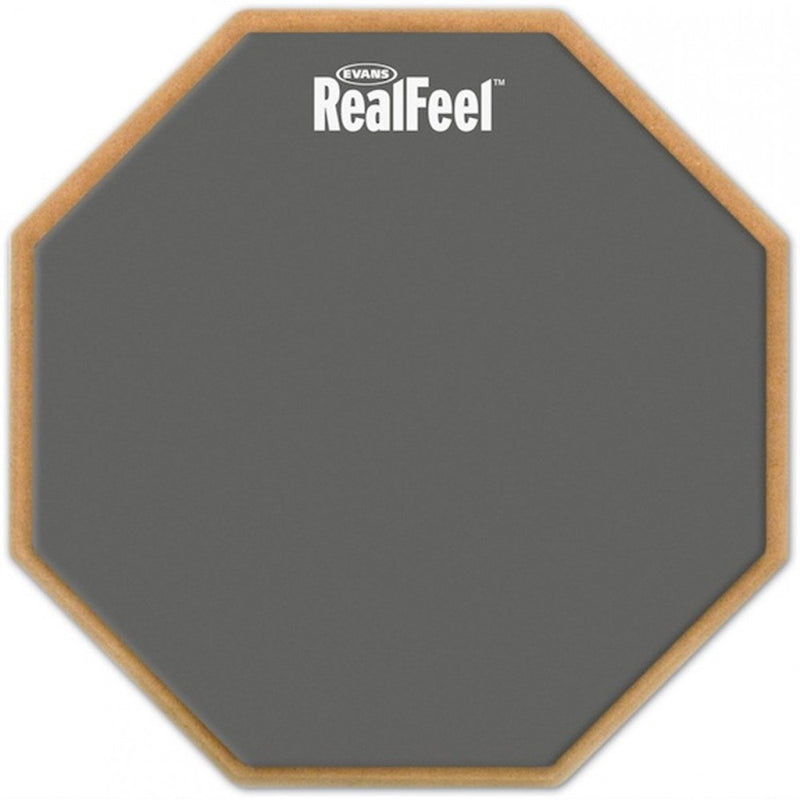 Evans Real Feel 12 Inch Standard Practice Pad 2 Sided.