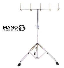 Multi Mount Percussion/Cowbell Stand Chrome.