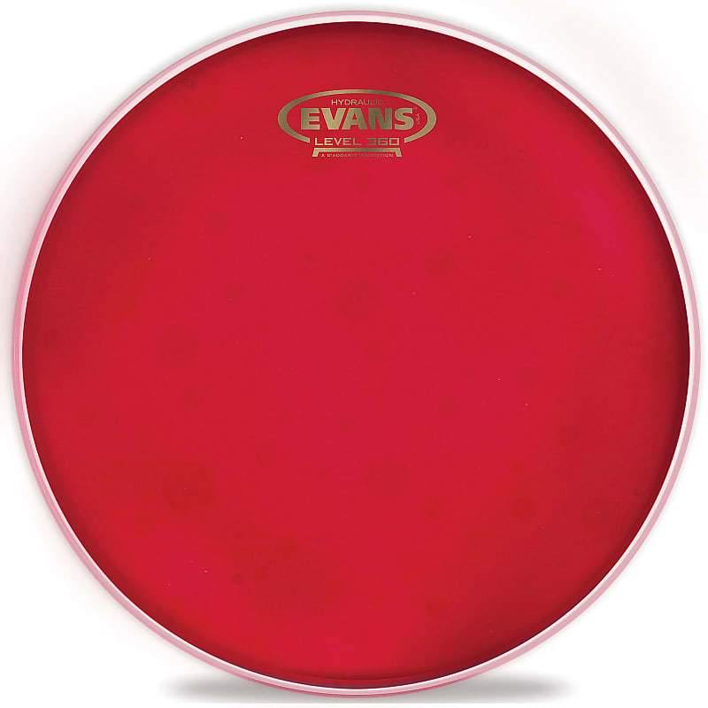 "Evans TT10HR Hydraulic Red, 10"" - Five Star Music"