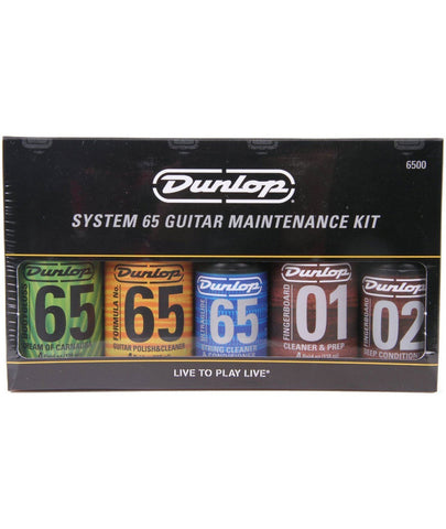 Dunlop Guitar Care and Maintenance System.