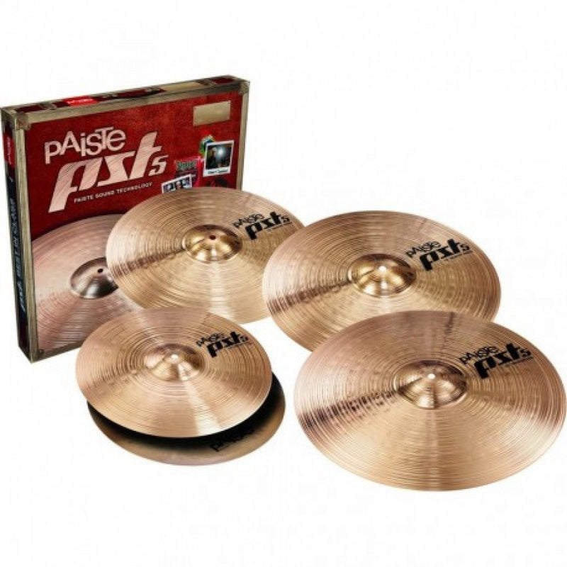 "Pst 5 Cymbal Set With Bonus 16"" - 14/18/20+16."