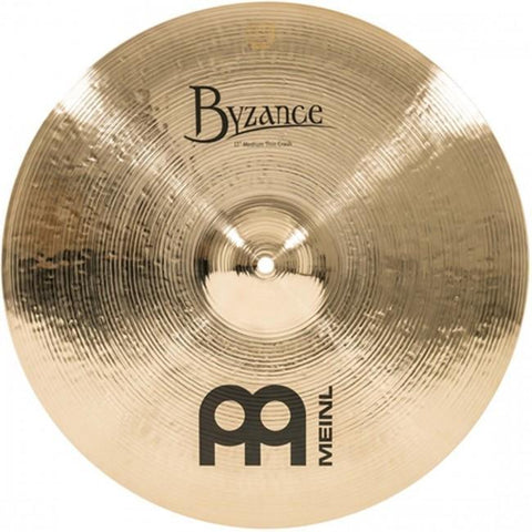 "Meinl Byzance Brilliant 17"" Medium Thin Crash"