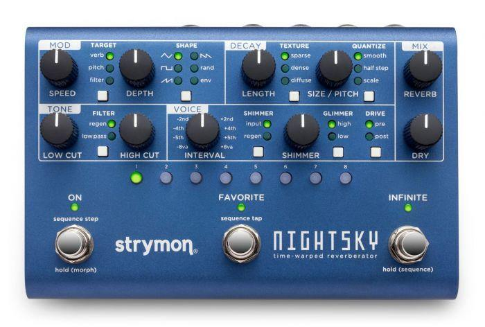 Strymon Night Sky Reverb Pedal - Five Star Music