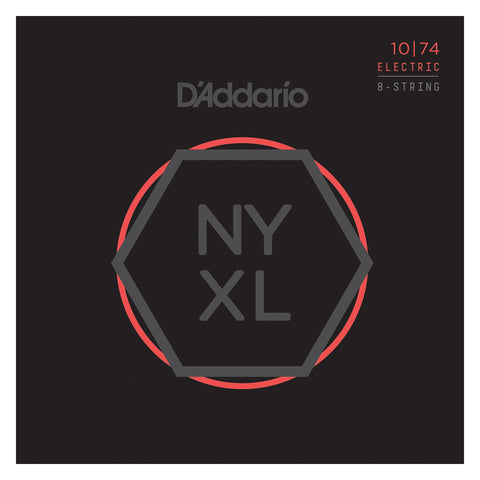Daddario NYXL 1074 Light Top / Heavy Bottom 8-Stringing